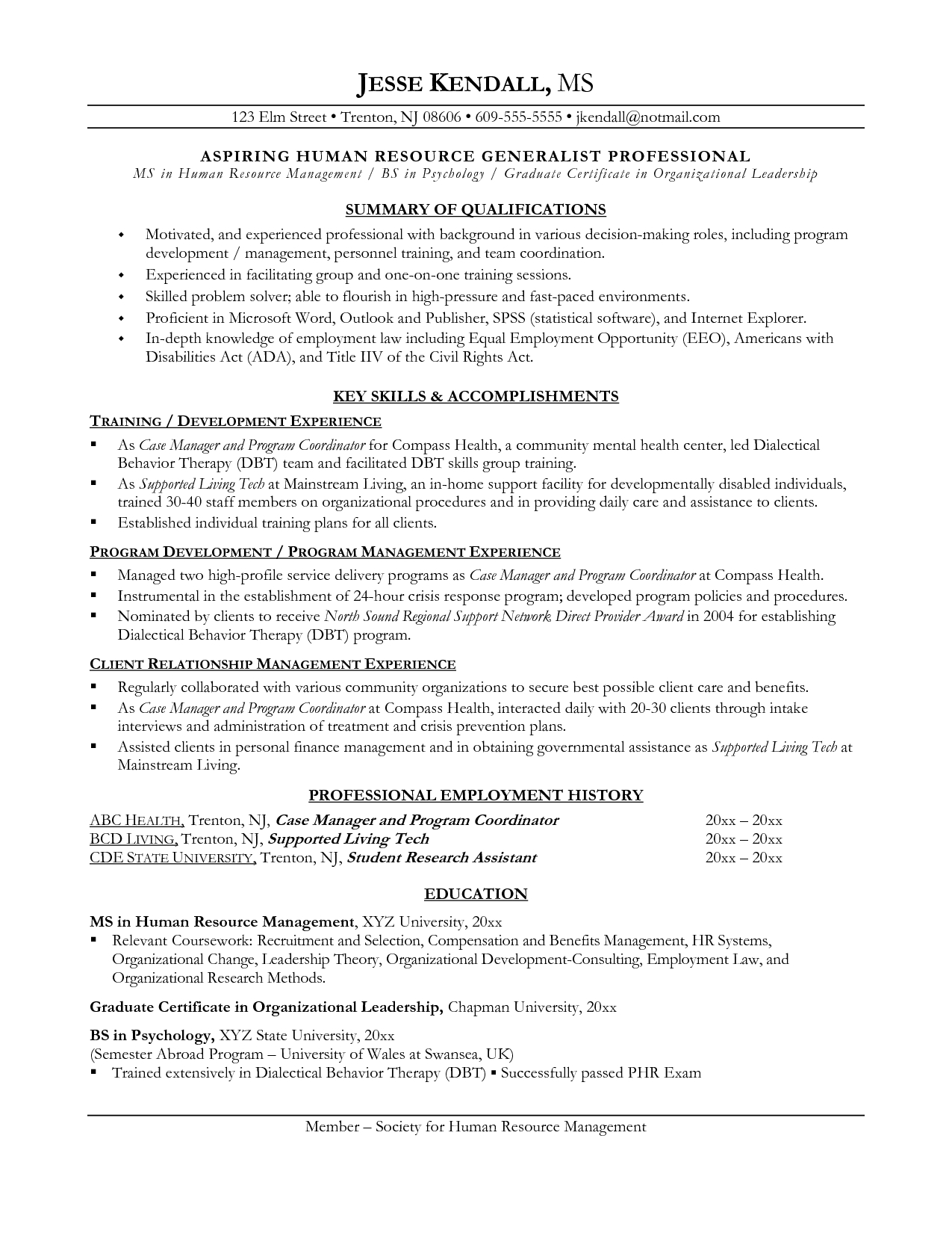 best ideas of how to write resume career change sample resume career