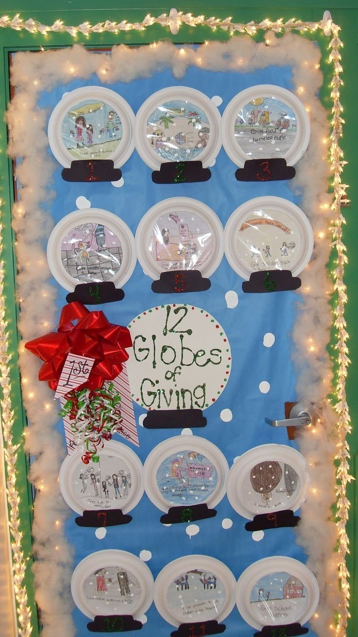 10 Gorgeous Classroom Christmas Door Decorating Contest Ideas best incridible christmas door decorations ideas 6149 2020