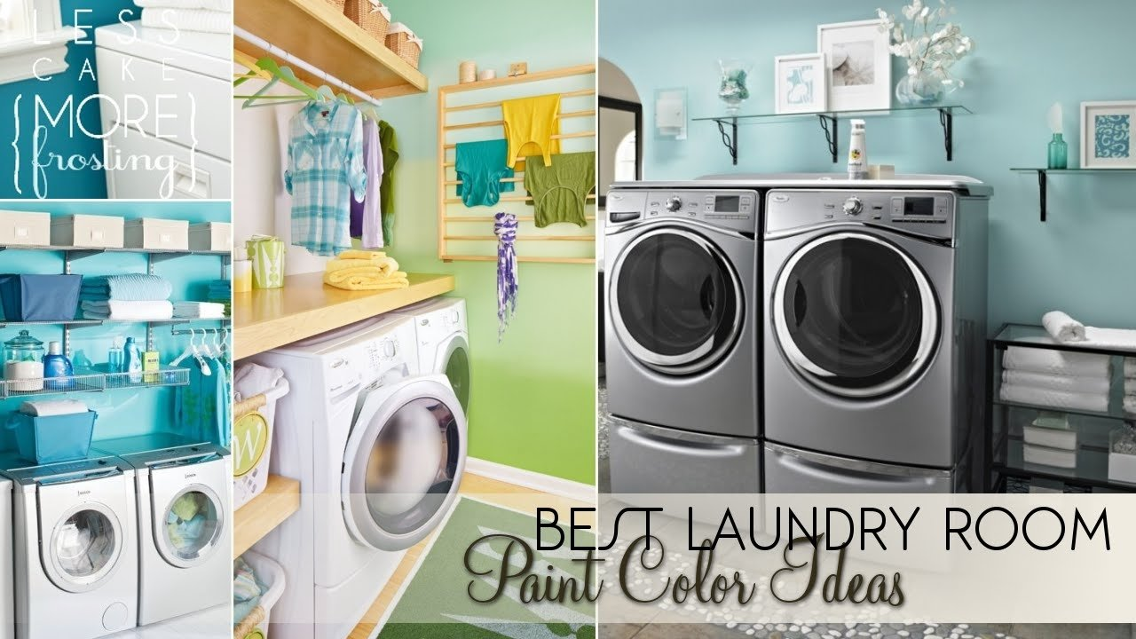 best laundry room paint color ideas - youtube