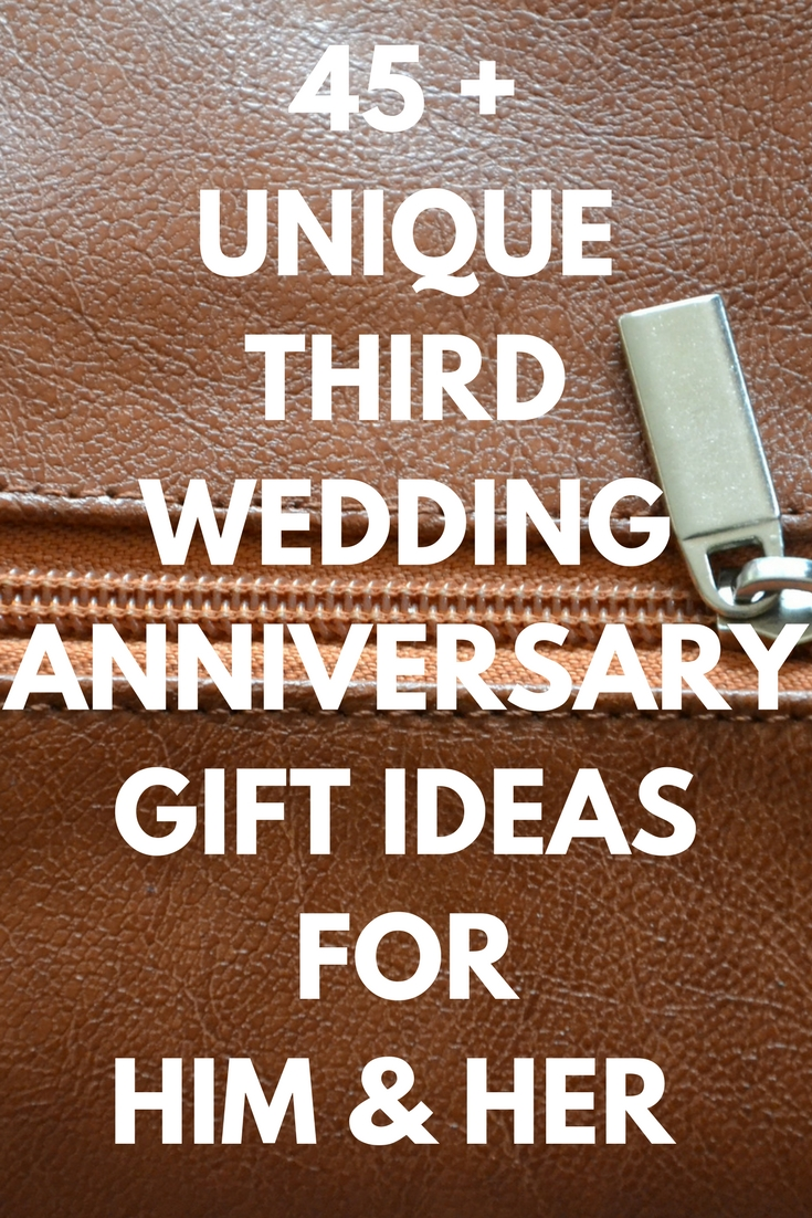 10 Stylish 3Rd Wedding Anniversary Gift Ideas For Her best leather anniversary gifts ideas for him and her 45 unique 1 2020