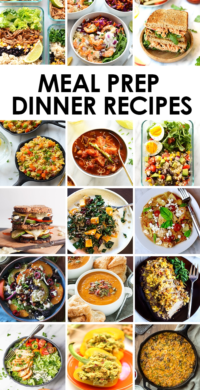 best meal prep recipes: dinners - fit foodie finds