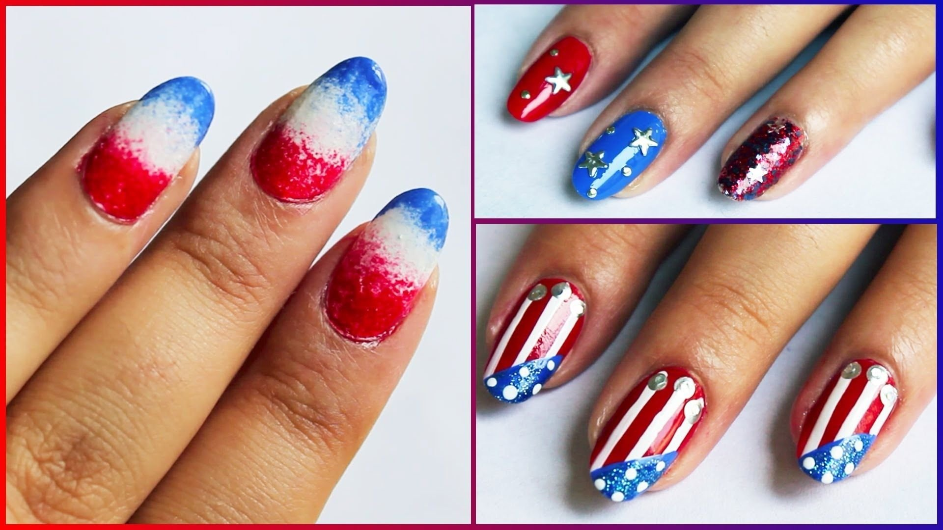 10 Awesome Fourth Of July Nail Art Ideas best memorial day nail art images pictures hd wallpaper are 1