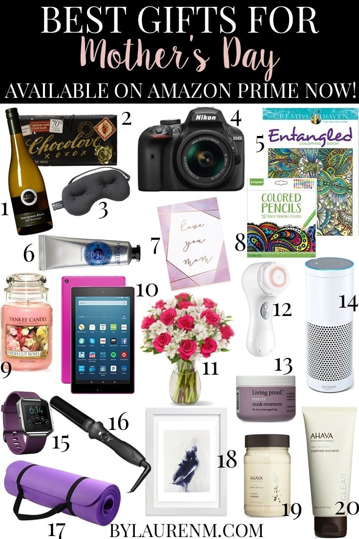 10 Ideal Amazon Gift Ideas For Her best mothers day gifts with amazon prime now lauren m 2020