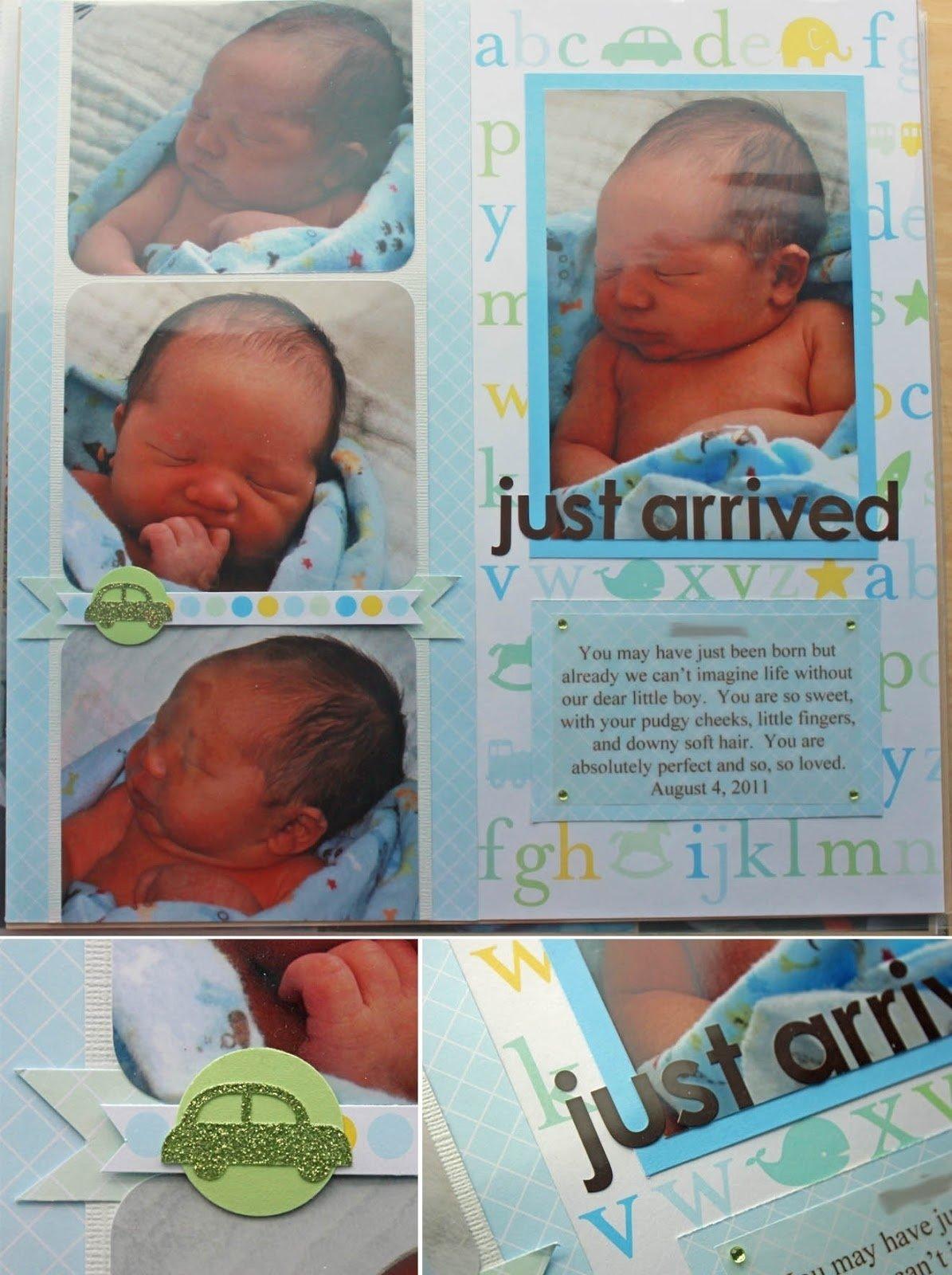 10 Fabulous Scrapbooking Ideas For Baby Boy best of baby scrapbook page layout ideas scrapbook ideas 2021