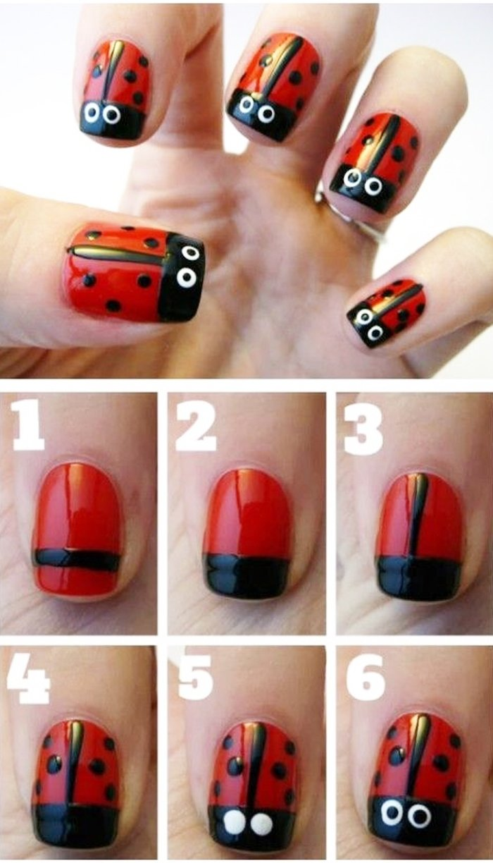10 Fantastic Nail Art Ideas Easy Step By Step best of easiest nail designs ideas nail design art 2021