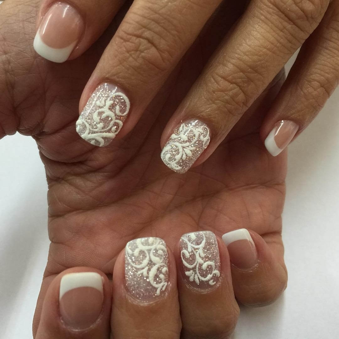 10 Awesome French Tip Nail Design Ideas %name 2020