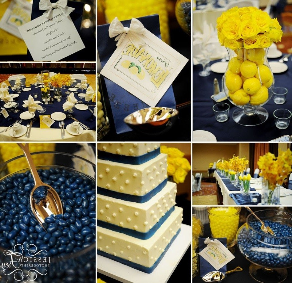 10 fabulous blue and yellow wedding ideas 10 fabulous blue and yellow wedding ideas best of navy blue and yellow wedding decoration ideas junglespirit Images