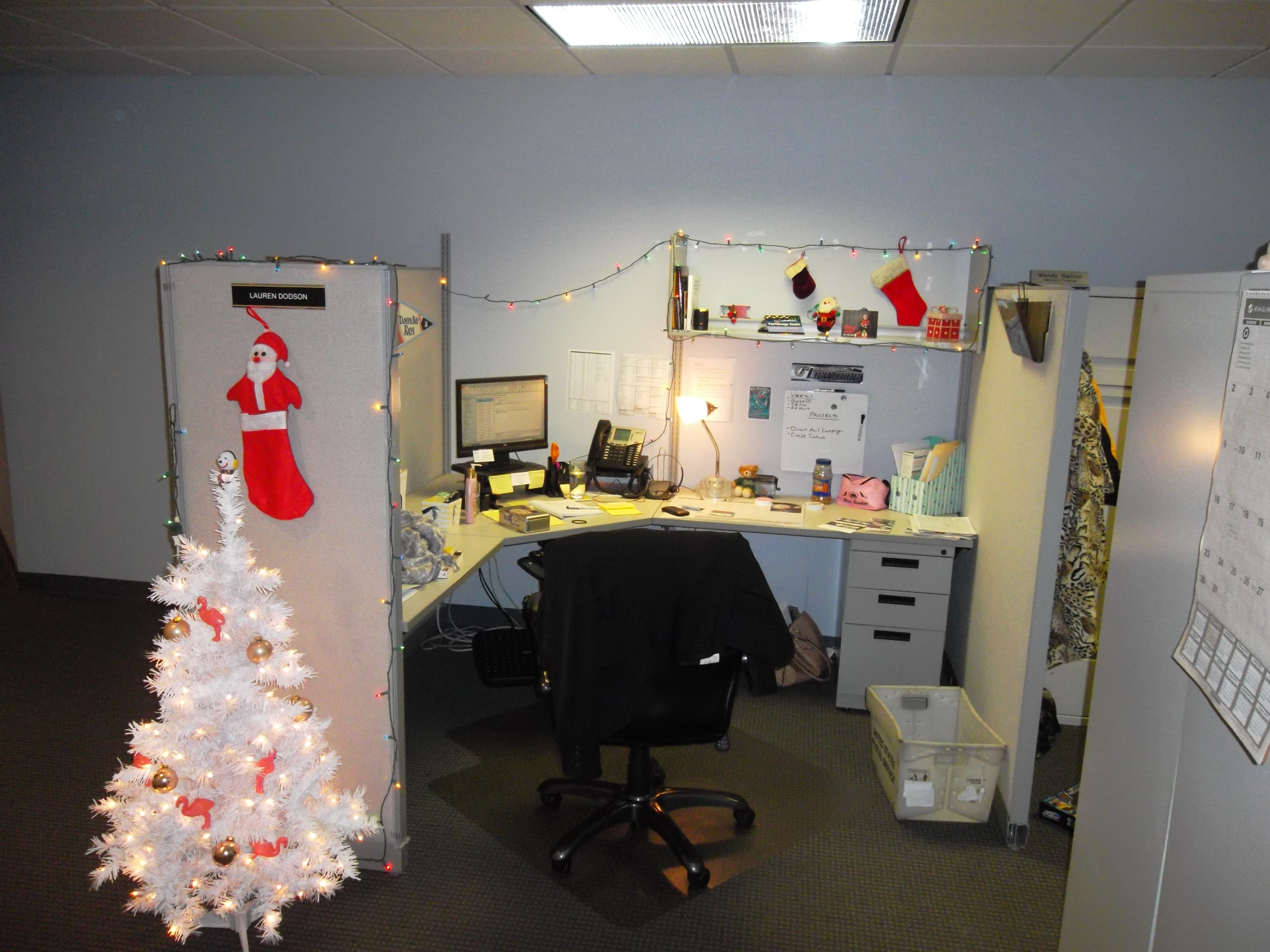 office cubicle christmas decoration. Fine Office 10 Attractive Office Cubicle Christmas Decorating Ideas Best Of Office  Holiday Cubicle Decorating Contest Also In Decoration