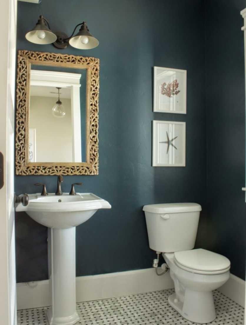 10 Unique Color Ideas For Small Bathrooms %name