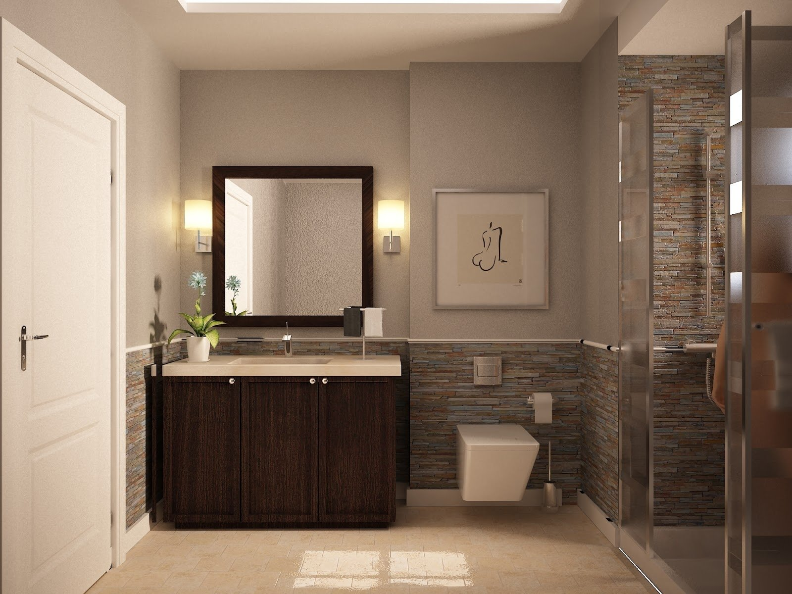 10 Unique Color Ideas For Small Bathrooms best paint color for small bathroom the best advice for color 2020