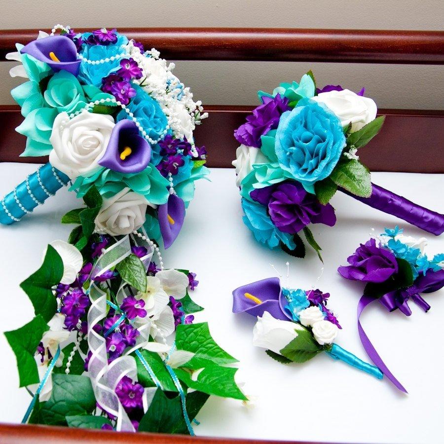 10 Pretty Blue And Purple Wedding Ideas