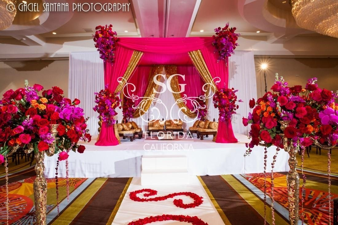 Red And Purple Wedding Decorations | www.topsimages.com