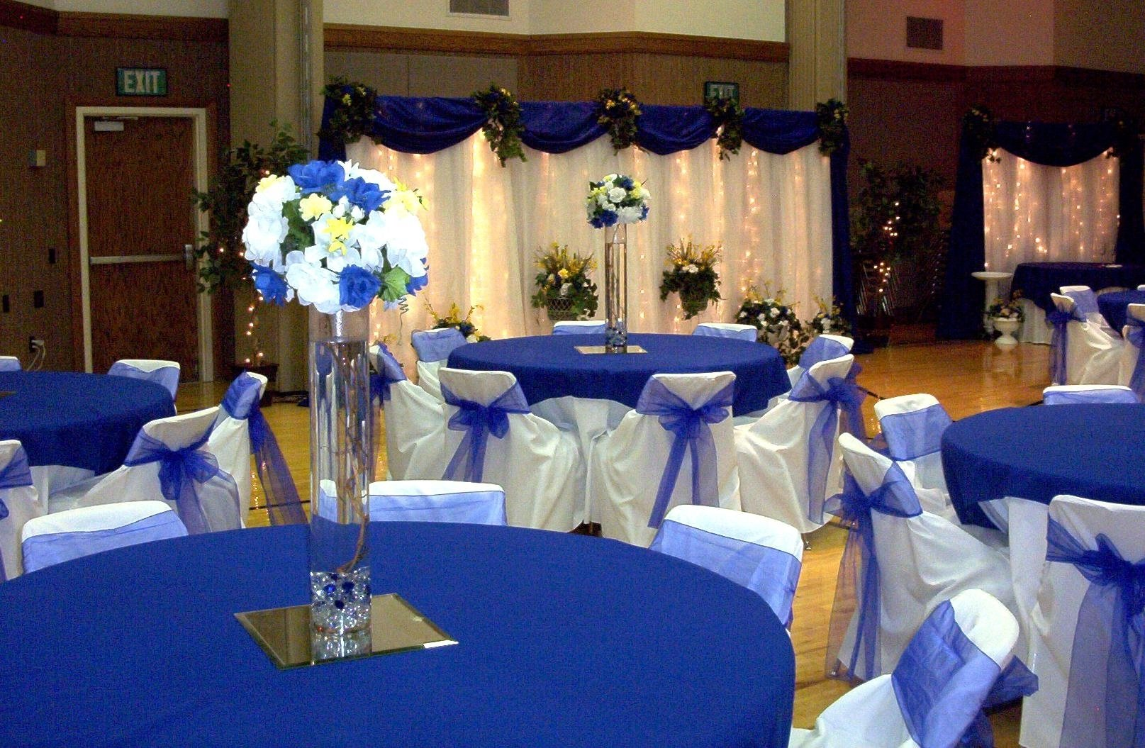 10 Lovable Royal Blue And Silver Wedding Ideas best royal blue wedding decorations with image 2 of 19
