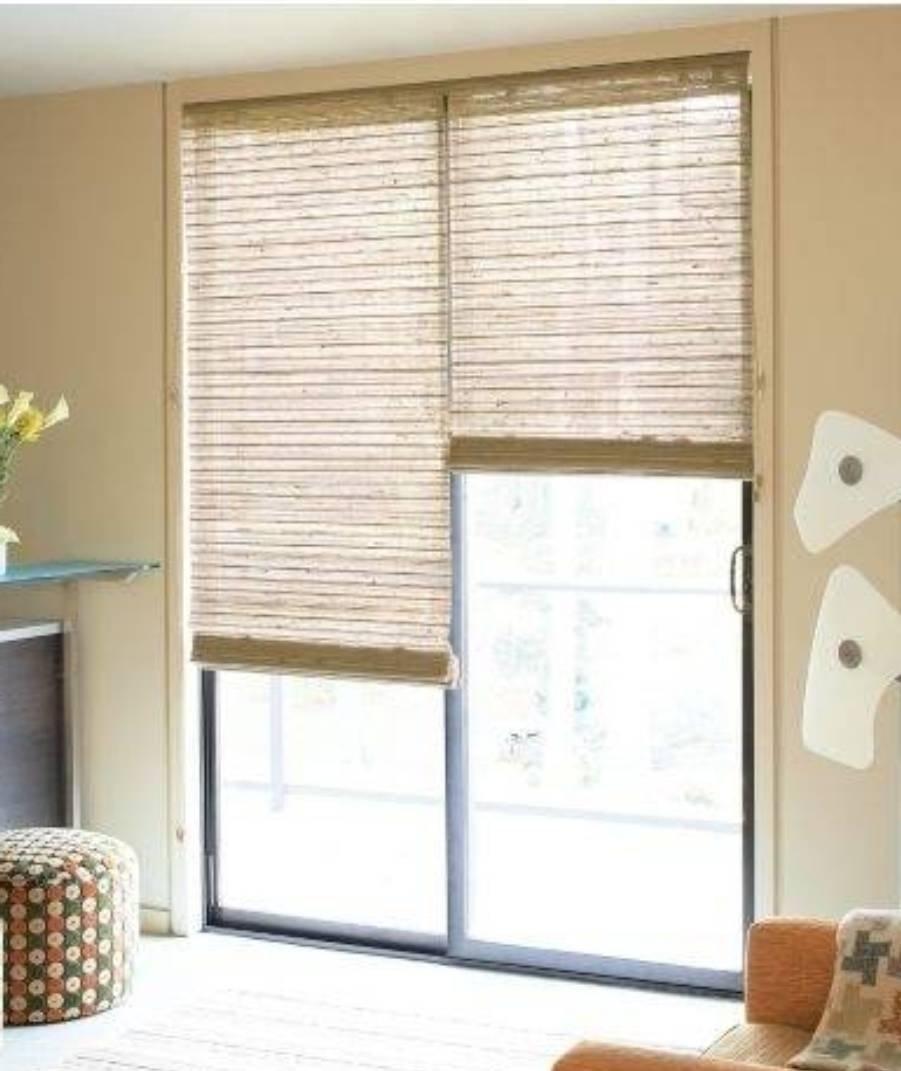 10 Wonderful Window Treatment Ideas For Sliding Glass Doors best sliding door window treatments window coverings for sliding 2020