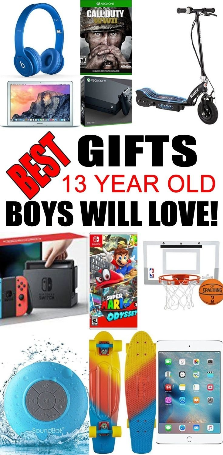10 Awesome Gift Ideas 13 Year Old Boy