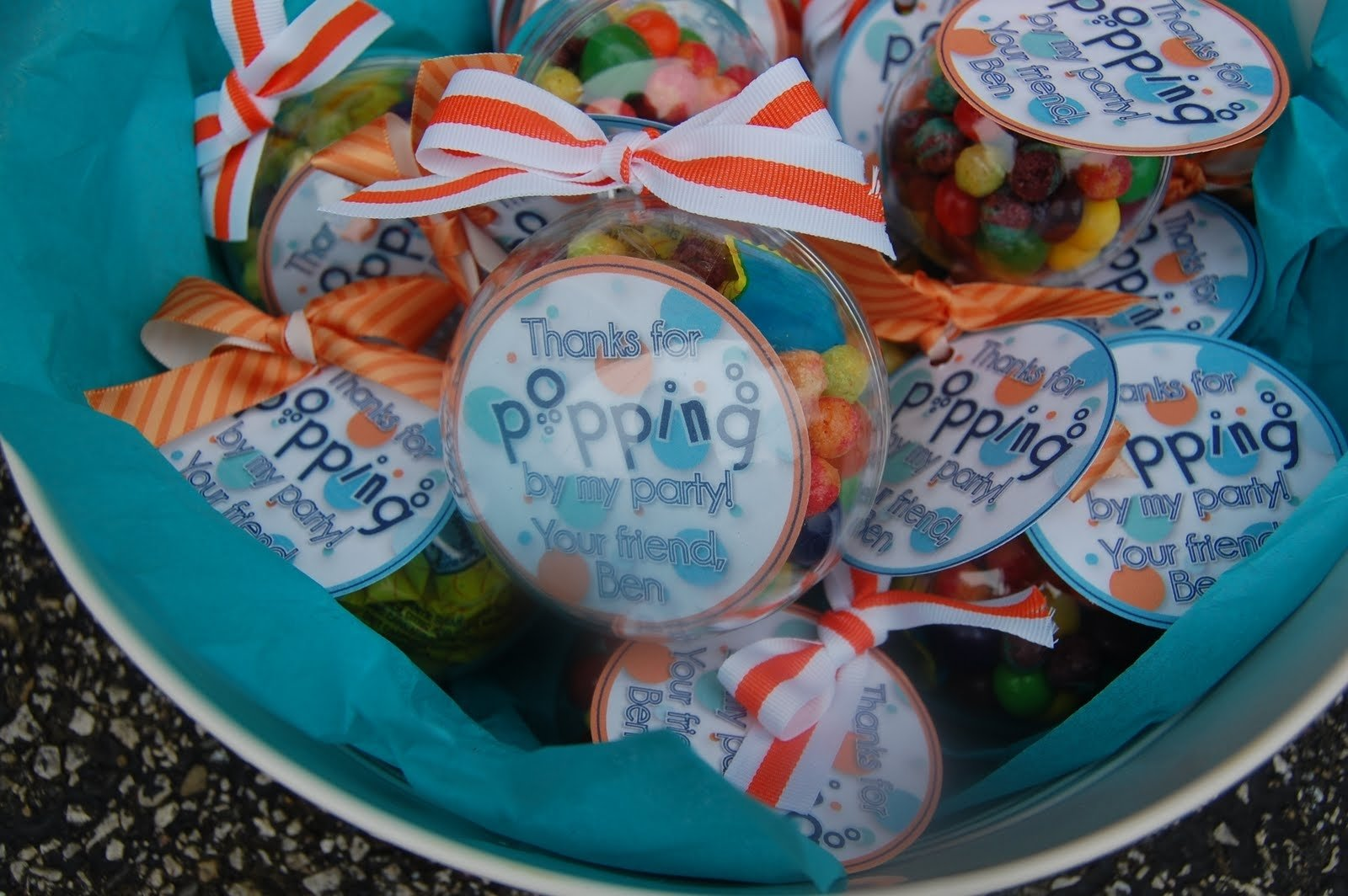 10 Perfect Bubble Guppies Party Favor Ideas beth kruse custom creations bubble party 1 2020