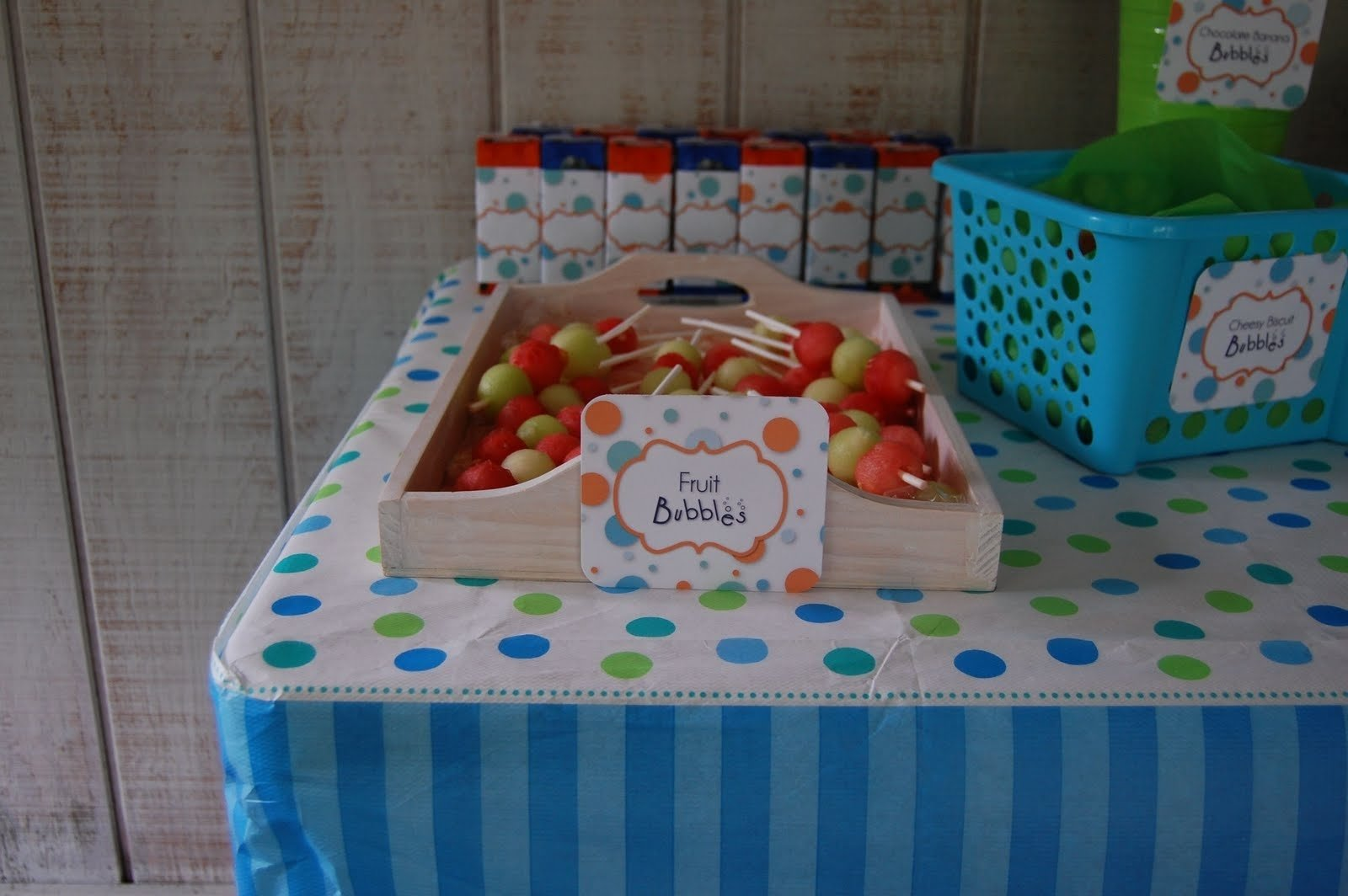 10 Gorgeous Bubble Guppies Party Food Ideas beth kruse custom creations bubble party 2 2020