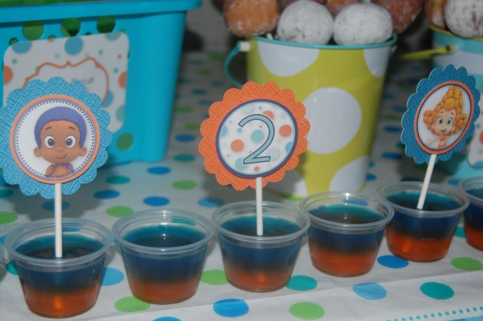10 Perfect Bubble Guppies Party Favor Ideas beth kruse custom creations bubble party 2020