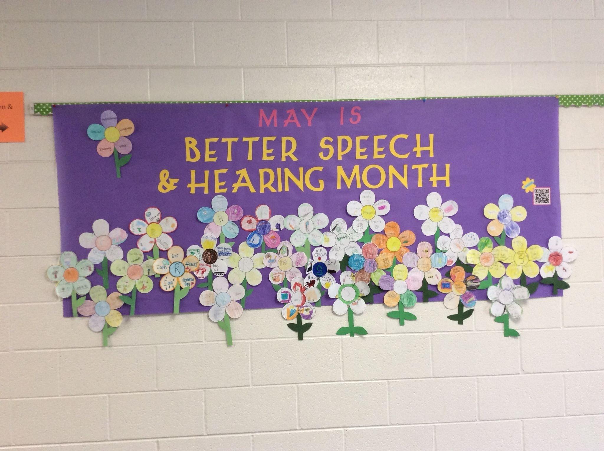 10 Beautiful Better Speech And Hearing Month Ideas better speech and hearing month may bulletin board ideas 2021