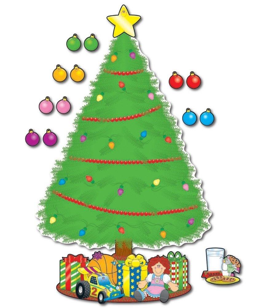 10 Attractive Christmas Tree Bulletin Board Ideas big christmas tree bulletin board set grade pk 5 2021