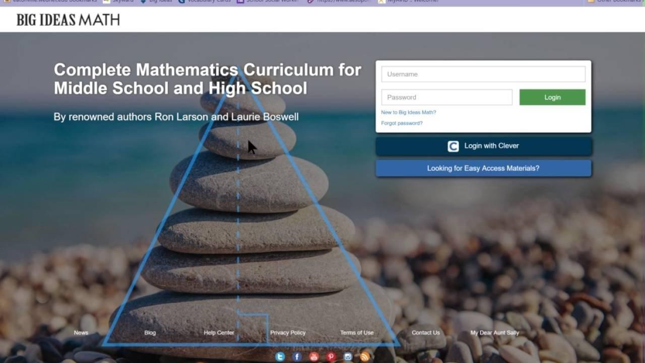 10 Fantastic Big Ideas Math Online Textbook big ideas math accessing the textbook youtube 2021