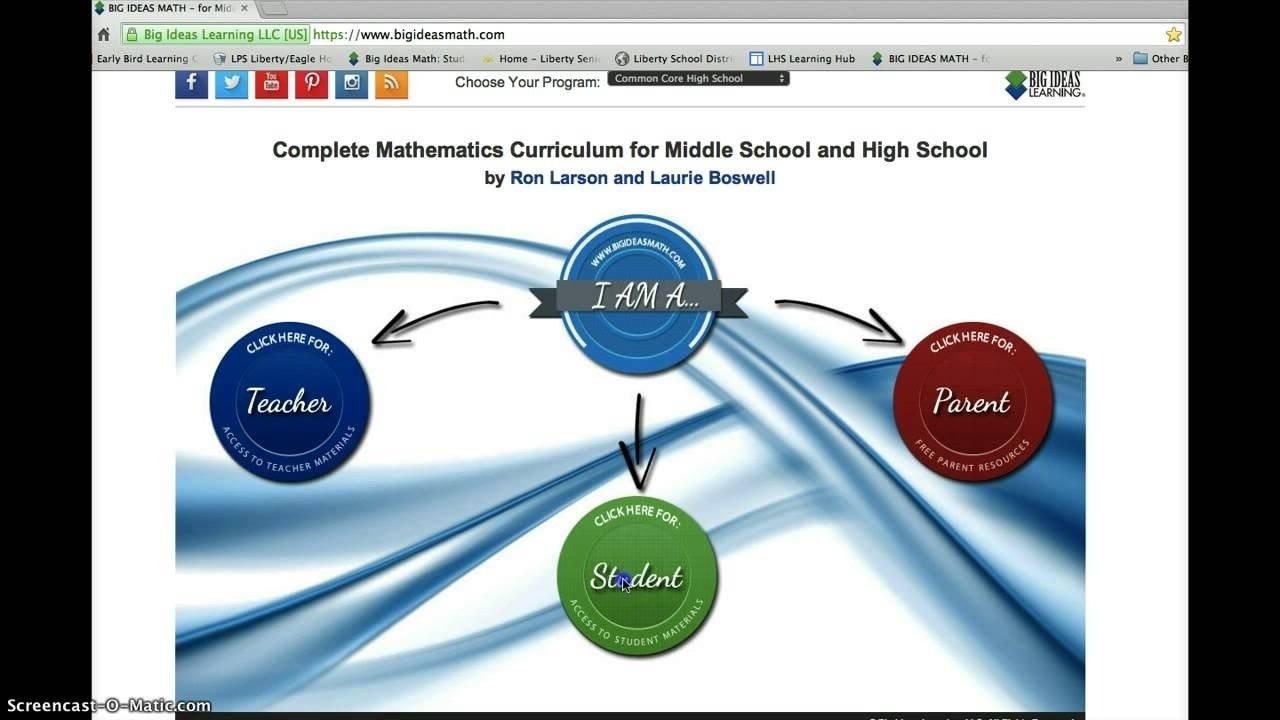 10 Fantastic Big Ideas Math Online Textbook big ideas math online book youtube 2021