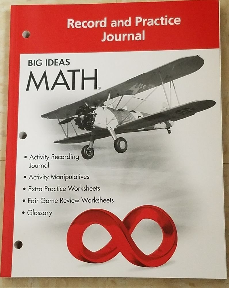 10 Most Popular Big Ideas Math Record And Practice Journal big ideas math red 7th grade record and practice journal isbn 2020