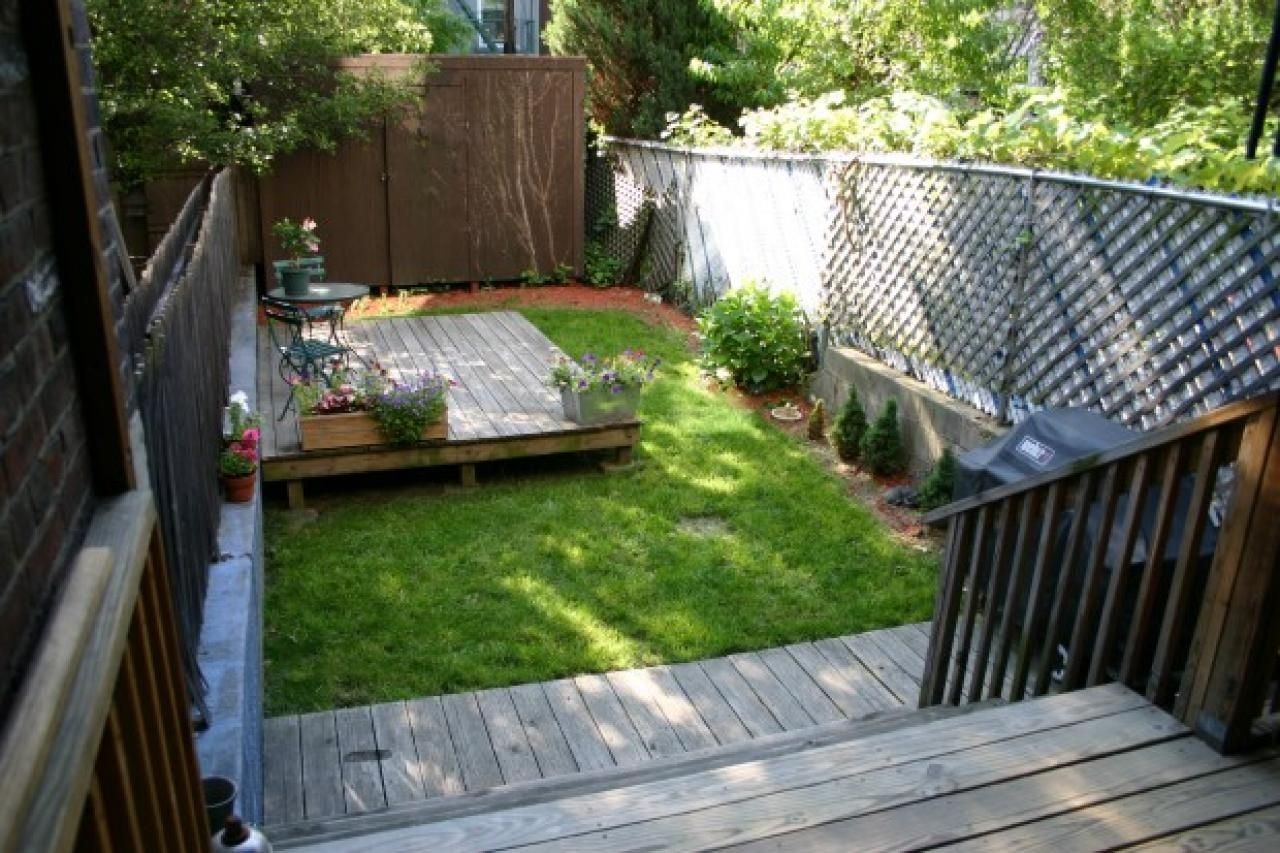 10 Elegant Landscape Ideas For Small Backyard %name 2021