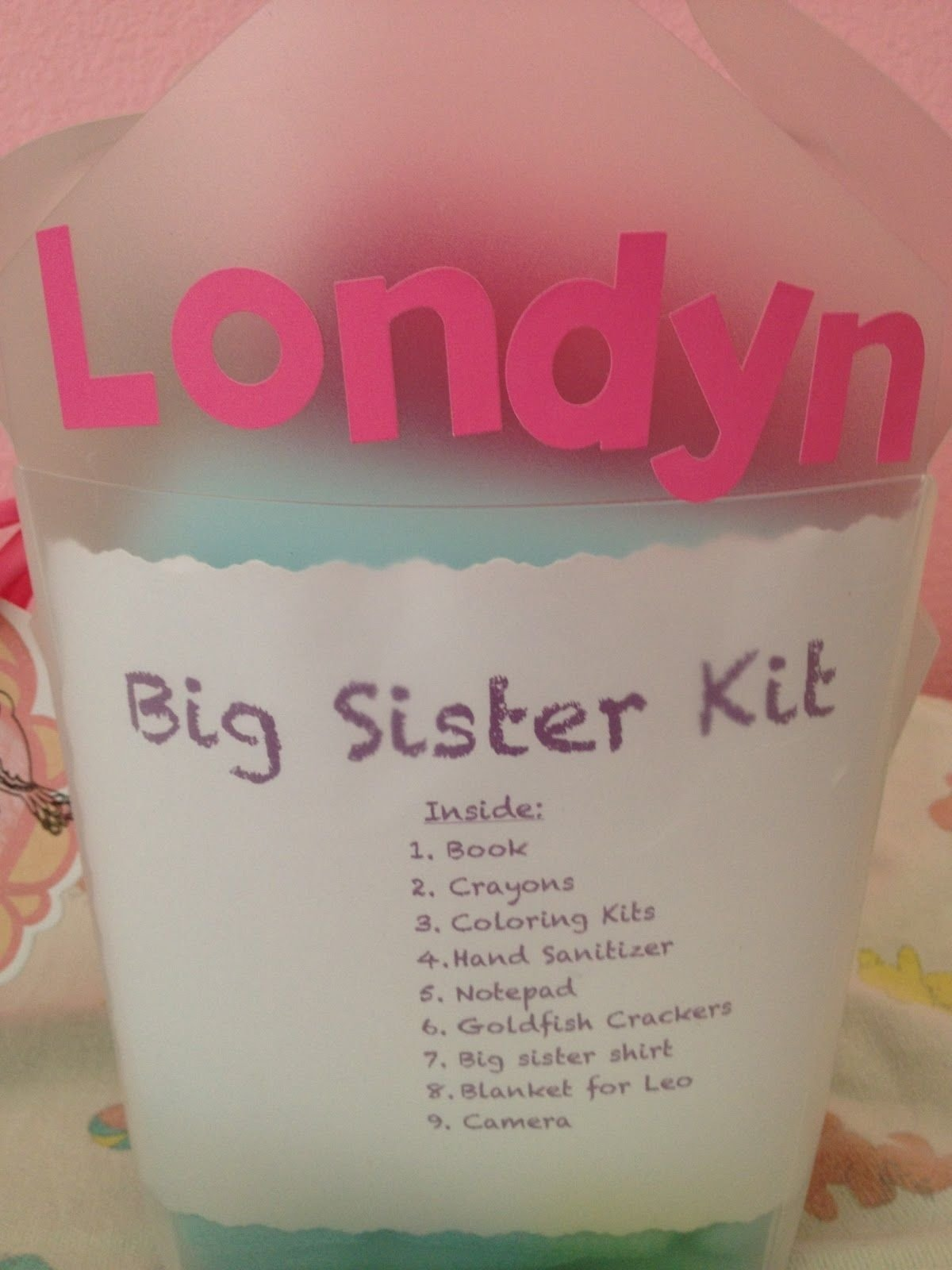 10 Beautiful Gift Ideas For A Sister big sister kit baby shower gift cute idea for the big sister to not