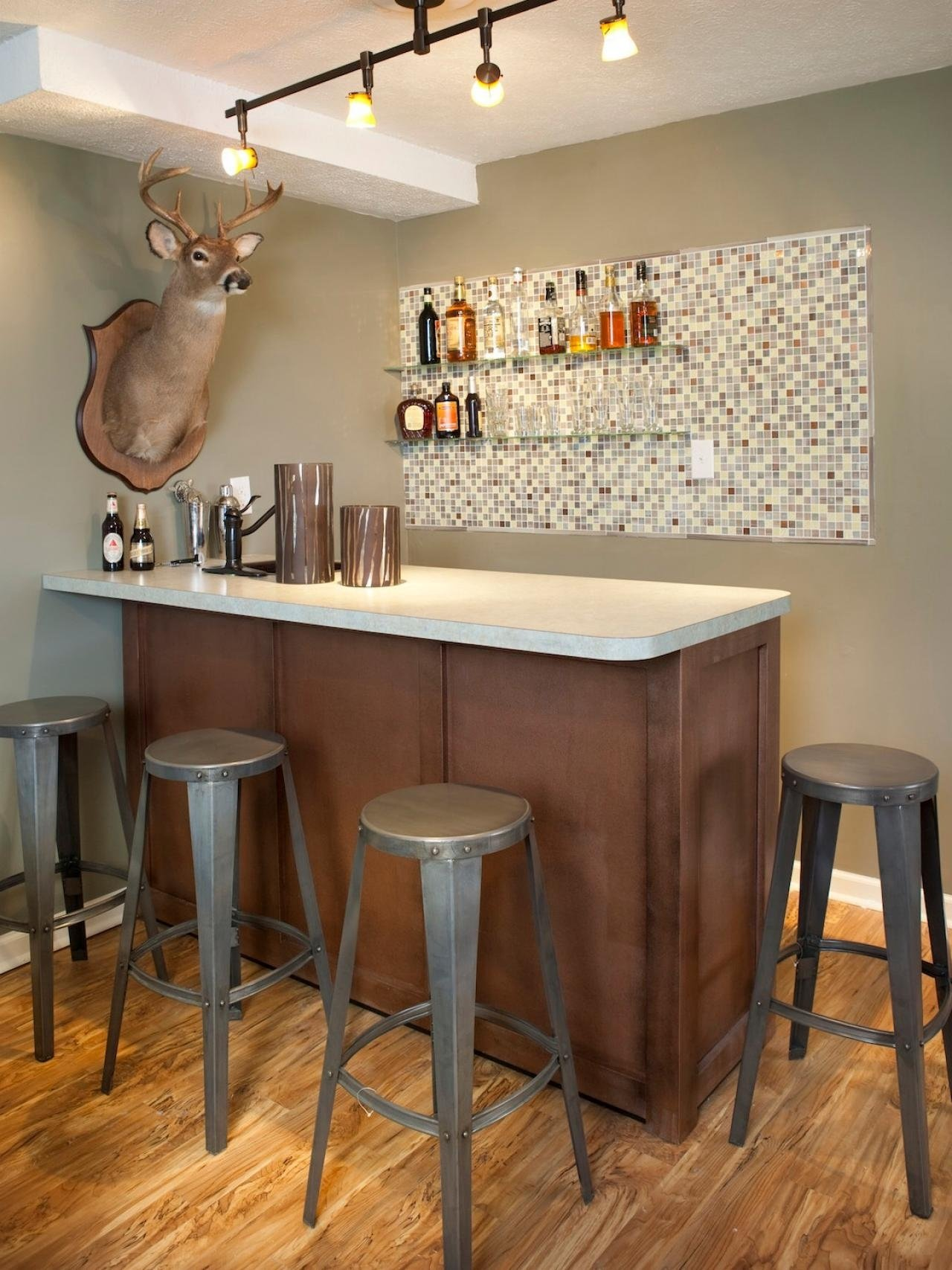 10 Elegant Basement Bar Ideas For Small Spaces big small basement bar ideas www almosthomedogdaycare basement 2020