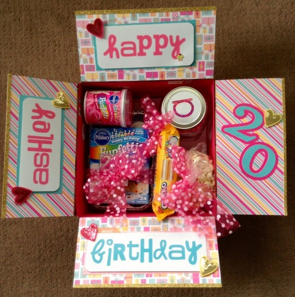 10 Unique Party In A Box Ideas birthday box college care package ideas pinterest box 2020