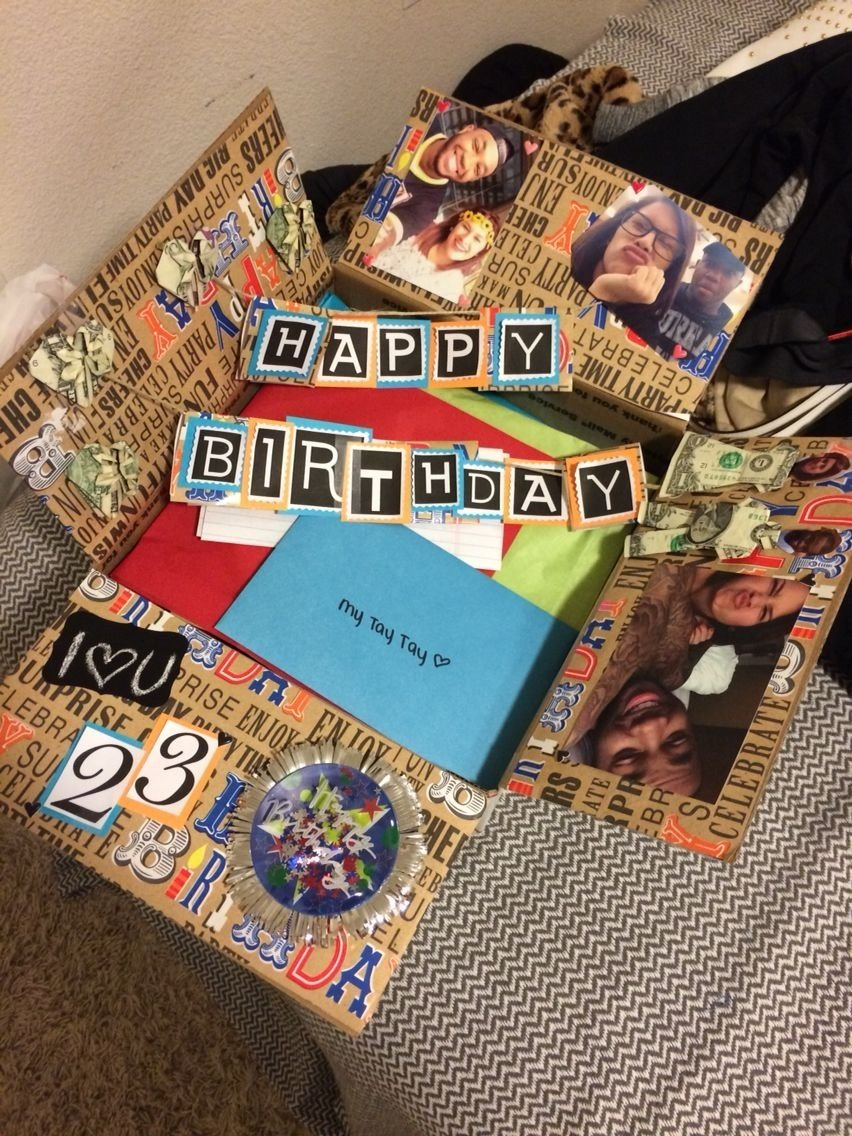 10 Gorgeous Fun Birthday Ideas For Boyfriend birthday box for him have a long distance relationship want to