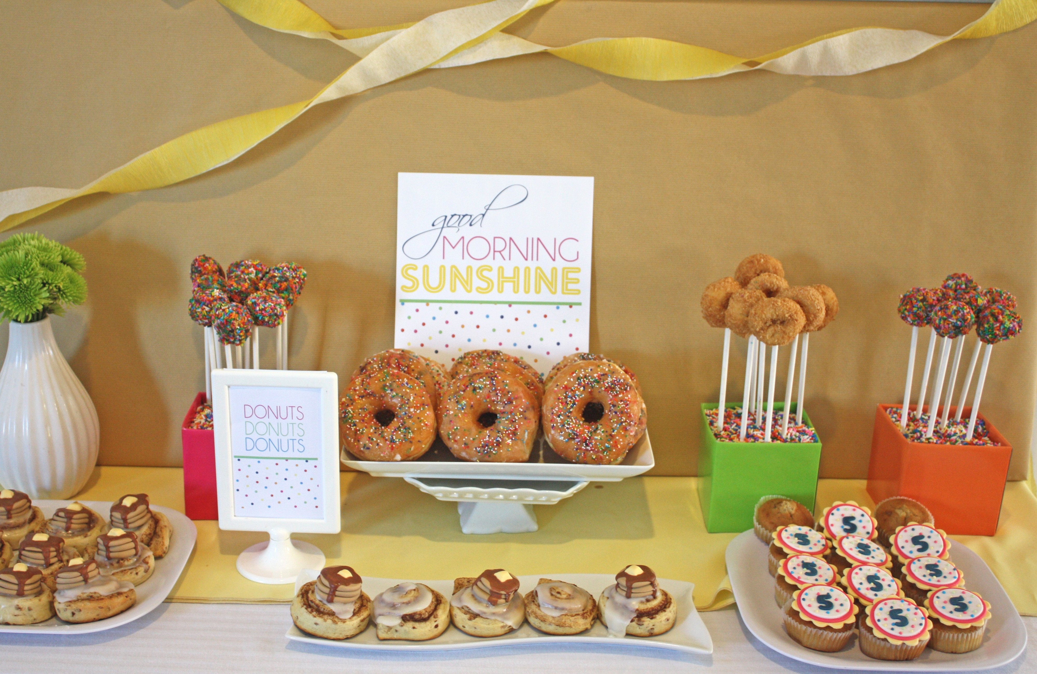 10 Pretty Breakfast Ideas For Work Party birthday breakfast party wear your pajamas thoughtfully simple 2