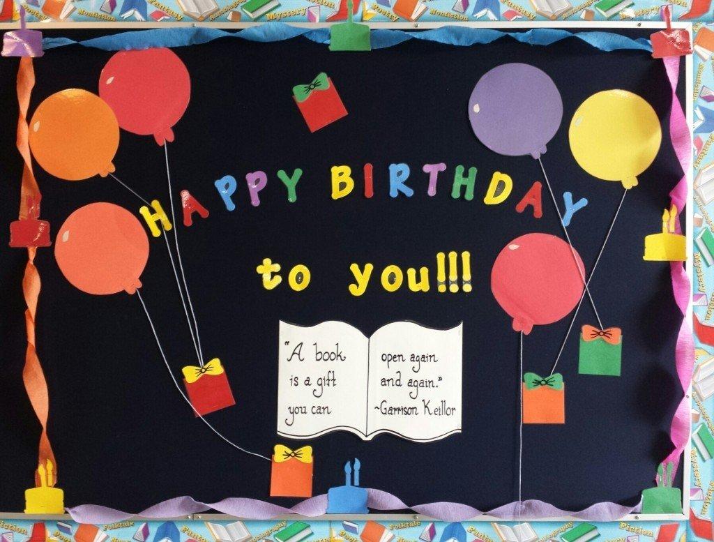 10 Wonderful Happy Birthday Bulletin Board Ideas birthday bulletin board ideas classrooms margusriga baby party 2020