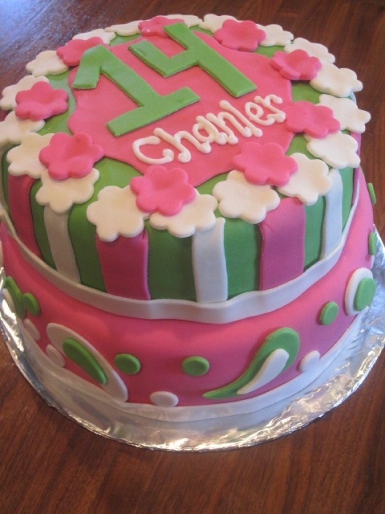 10 Fantastic 14 Year Old Birthday Cake Ideas birthday cake 14 year girl birthday inspiring birthday cake ideas in 2020