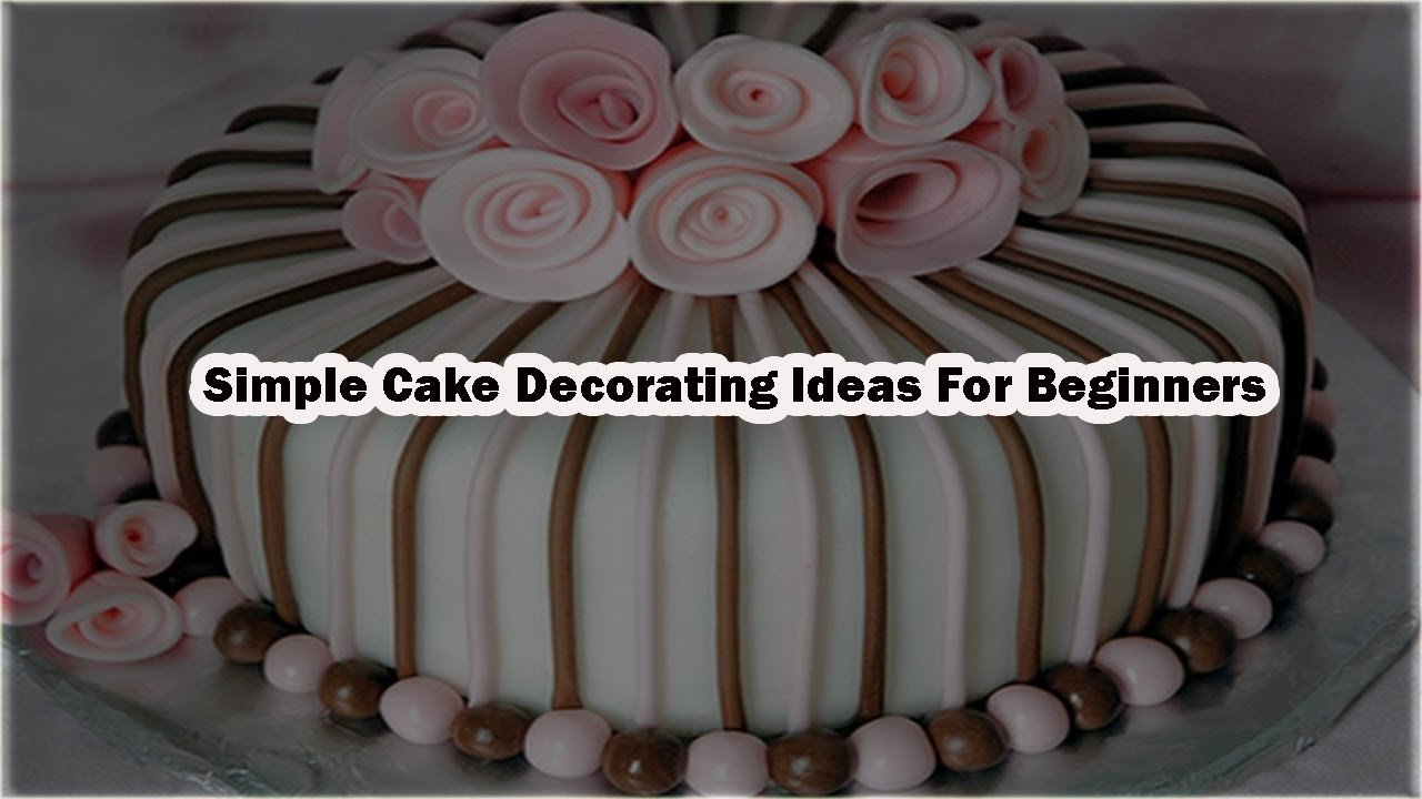 birthday cake decorating ideas | simple cake decorating ideas for