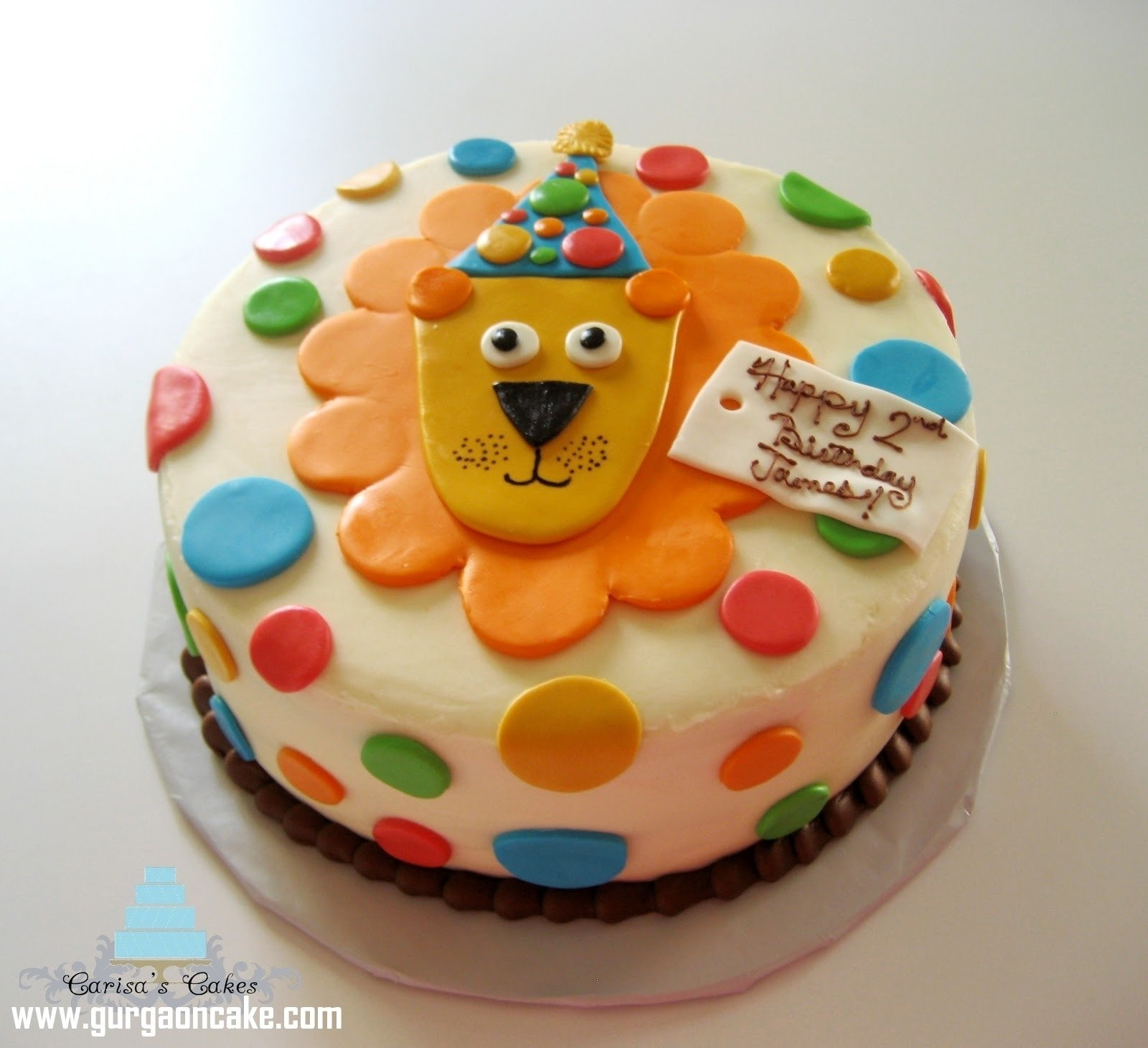 10 Amazing 2 Year Old Birthday Cake Ideas For Ba Boy With