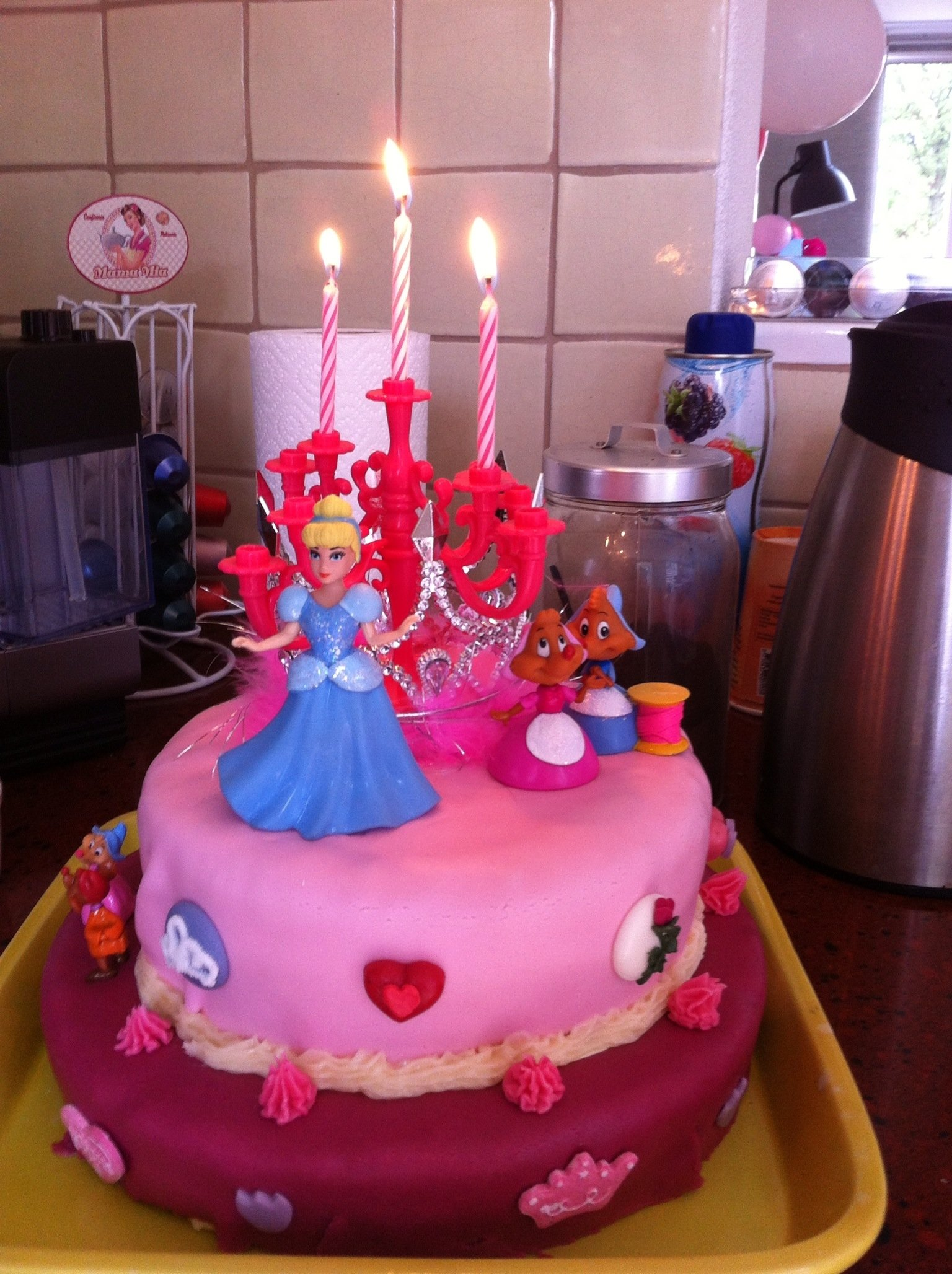 10 Fabulous 3 Year Old Girl Birthday Ideas birthday cake for my 3 years old girl 3 year old idea phoograpy 2020
