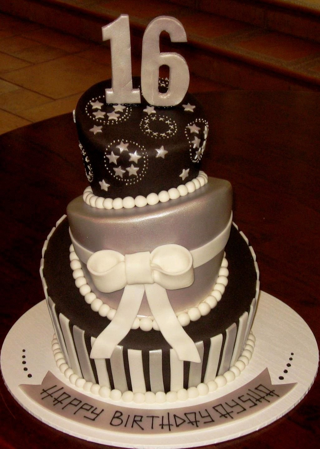 10 Ideal 16Th Birthday Cake Ideas For Boys birthday cake ideas for a 16th decorating of party