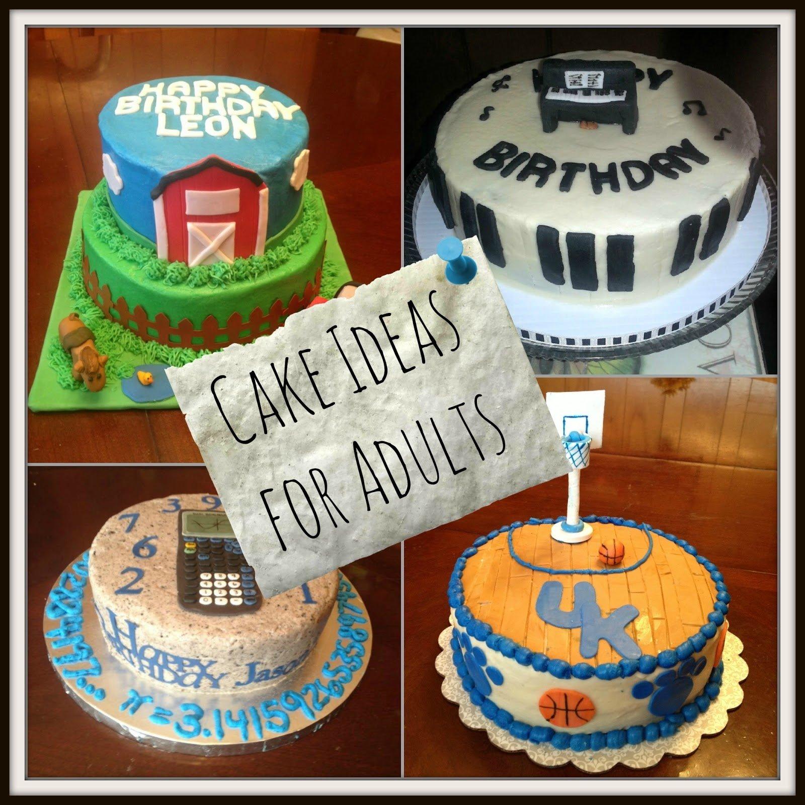10 Gorgeous Birthday Cake Decorating Ideas For Adults birthday cake ideas for adults 2020
