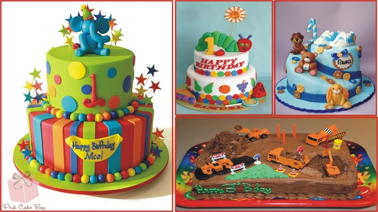 10 Attractive Birthday Cake Ideas For Kids birthday cake ideas for children youtube 2020