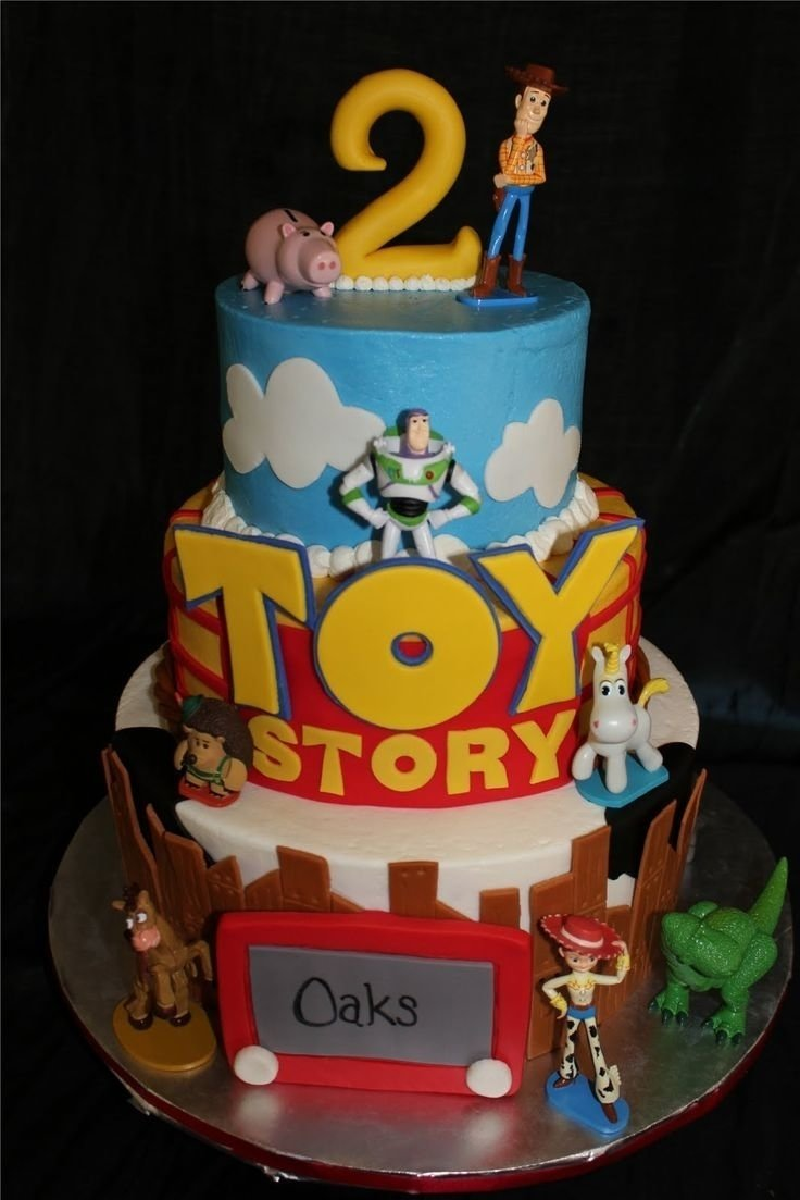 10 Spectacular Toy Story Birthday Cake Ideas birthday cake ideas toy story birthday cake ideas for little boys 2020