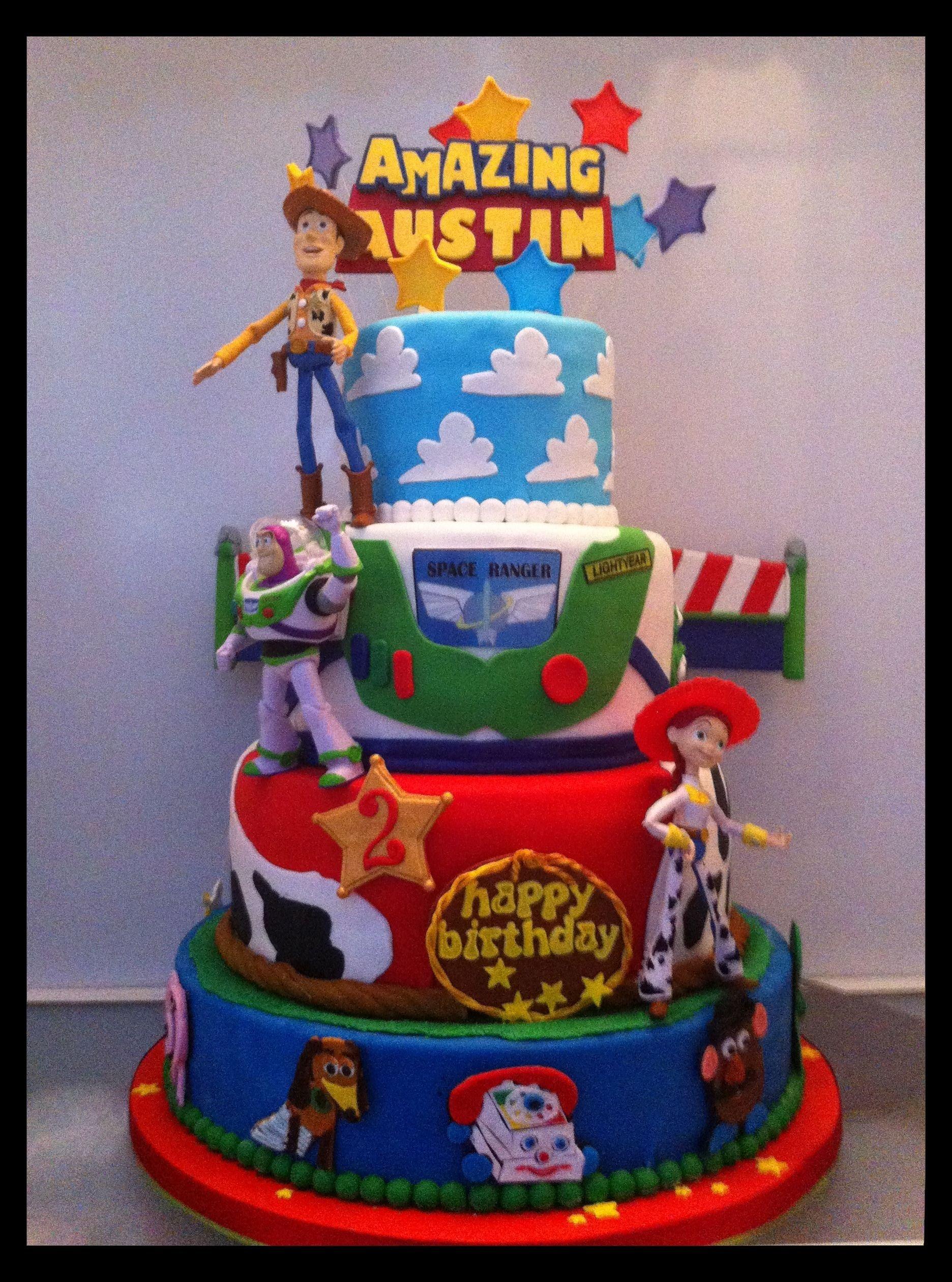 10 Spectacular Toy Story Birthday Cake Ideas birthday cake toy story kids toy story birthday party pinterest 2020