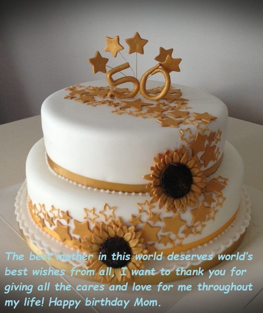 10 Fashionable Birthday Cake Ideas For Mom birthday cake wishes images for mom best wishes 2020