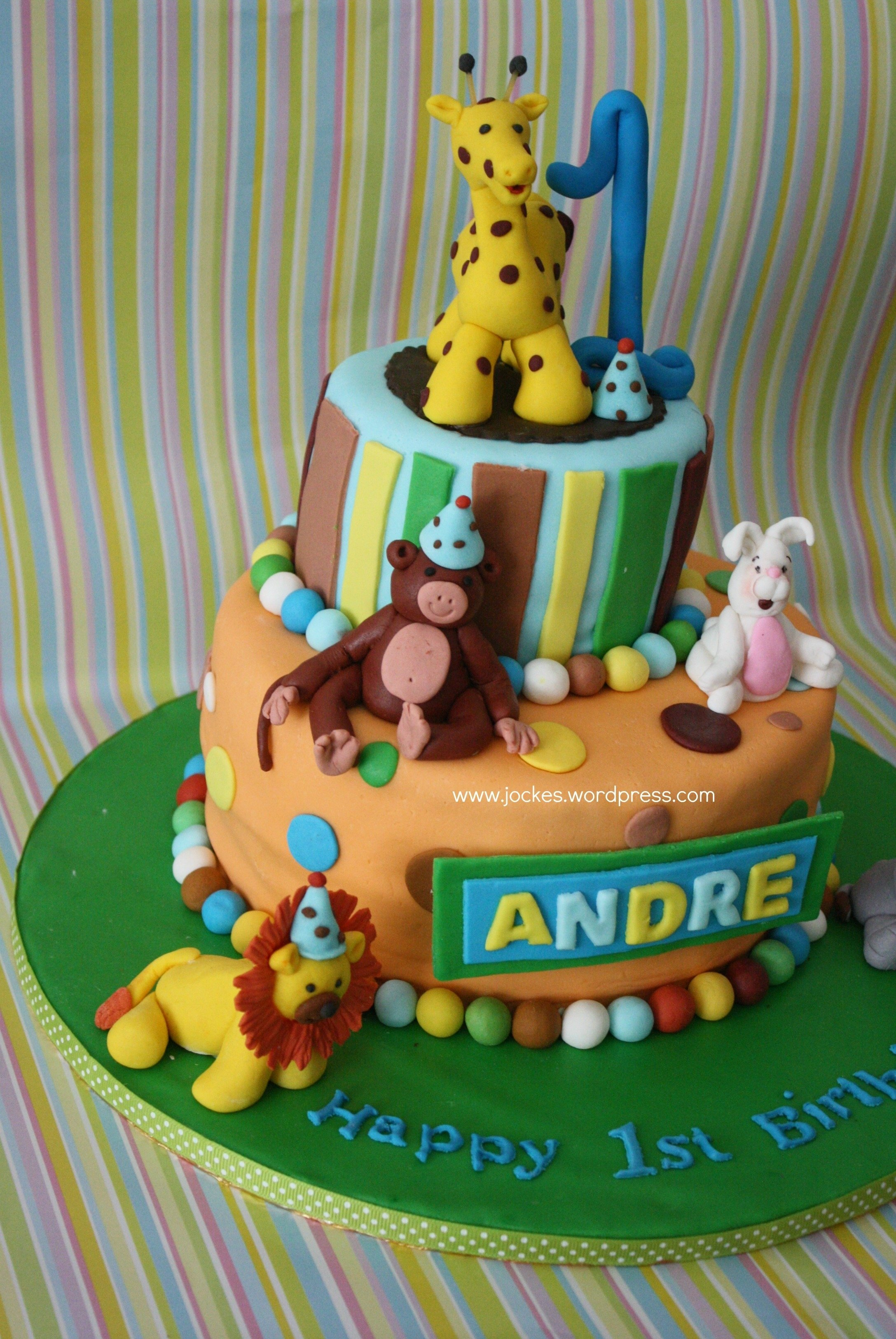10 Pretty Birthday Ideas For 1 Year Old Boy Cakes Olds