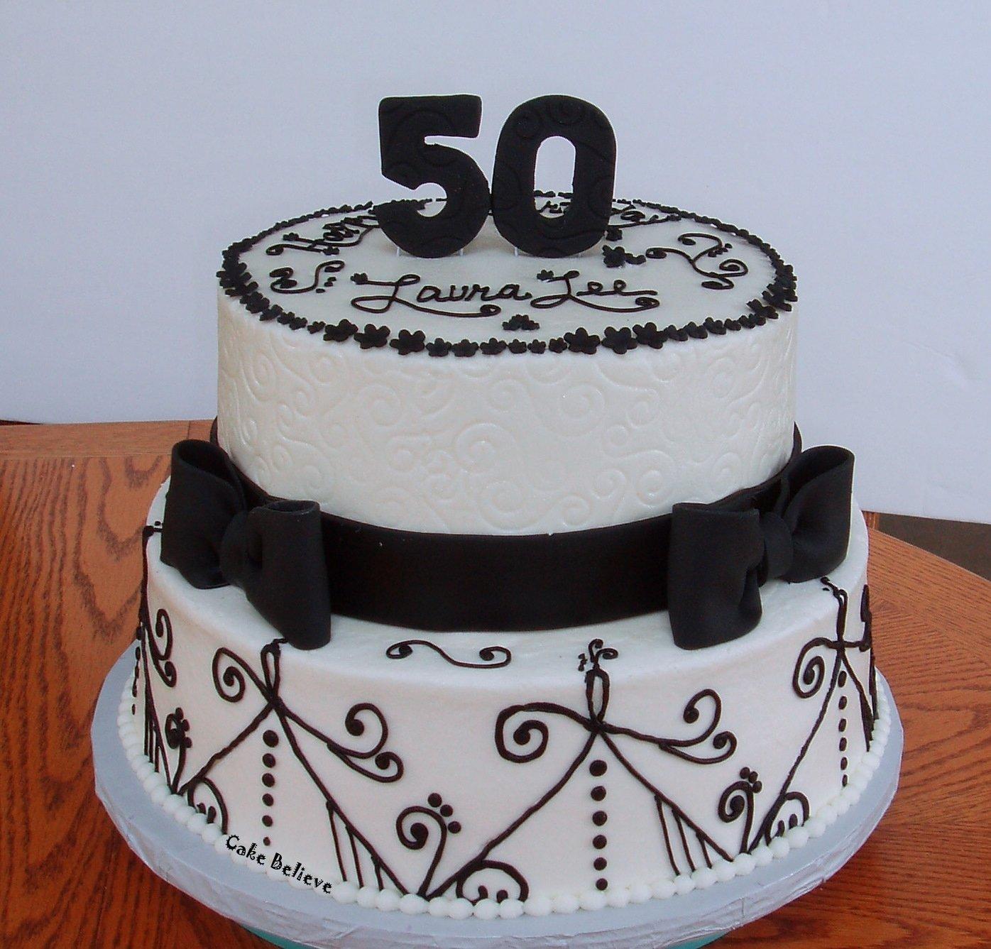 10 Pretty 50th Birthday Cake Ideas For Men
