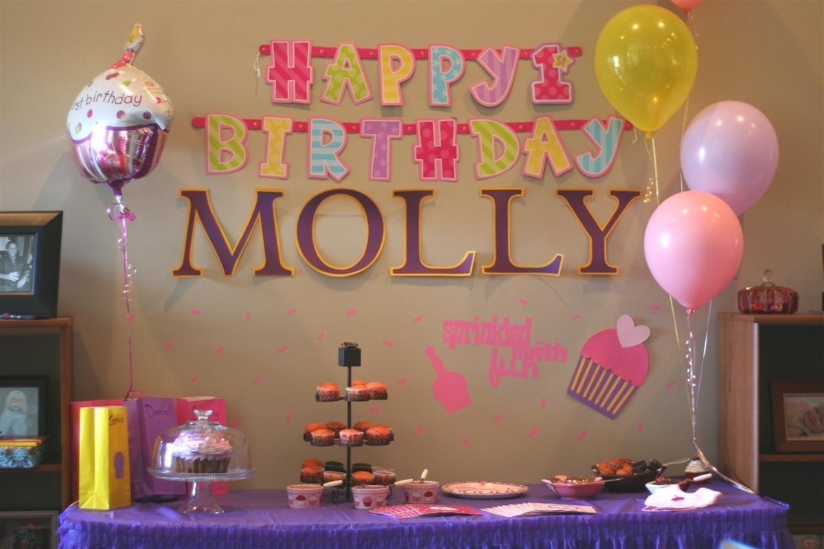 10 fantastic cupcake themed birthday party ideas
