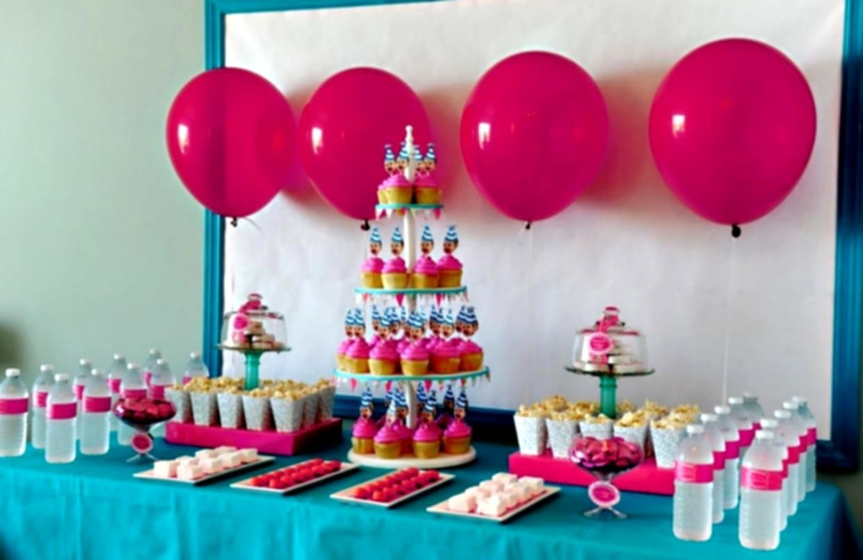 10 Cute Kids Birthday Party Ideas At Home Decoration For