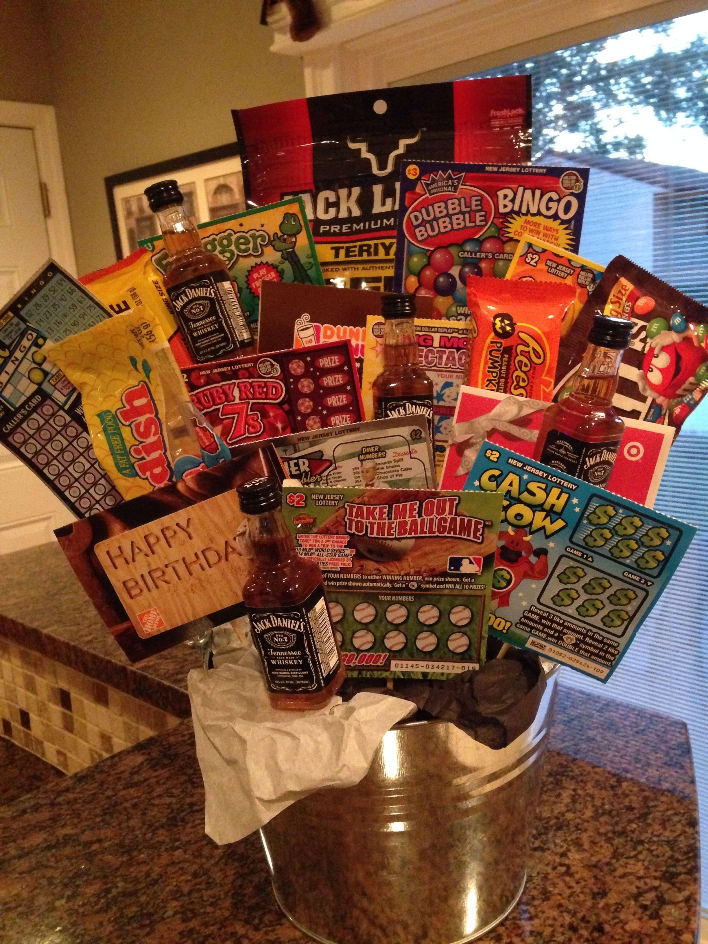 10 Fabulous Birthday Gift Ideas For Men birthday gift basket for guys pinteres 11 2021