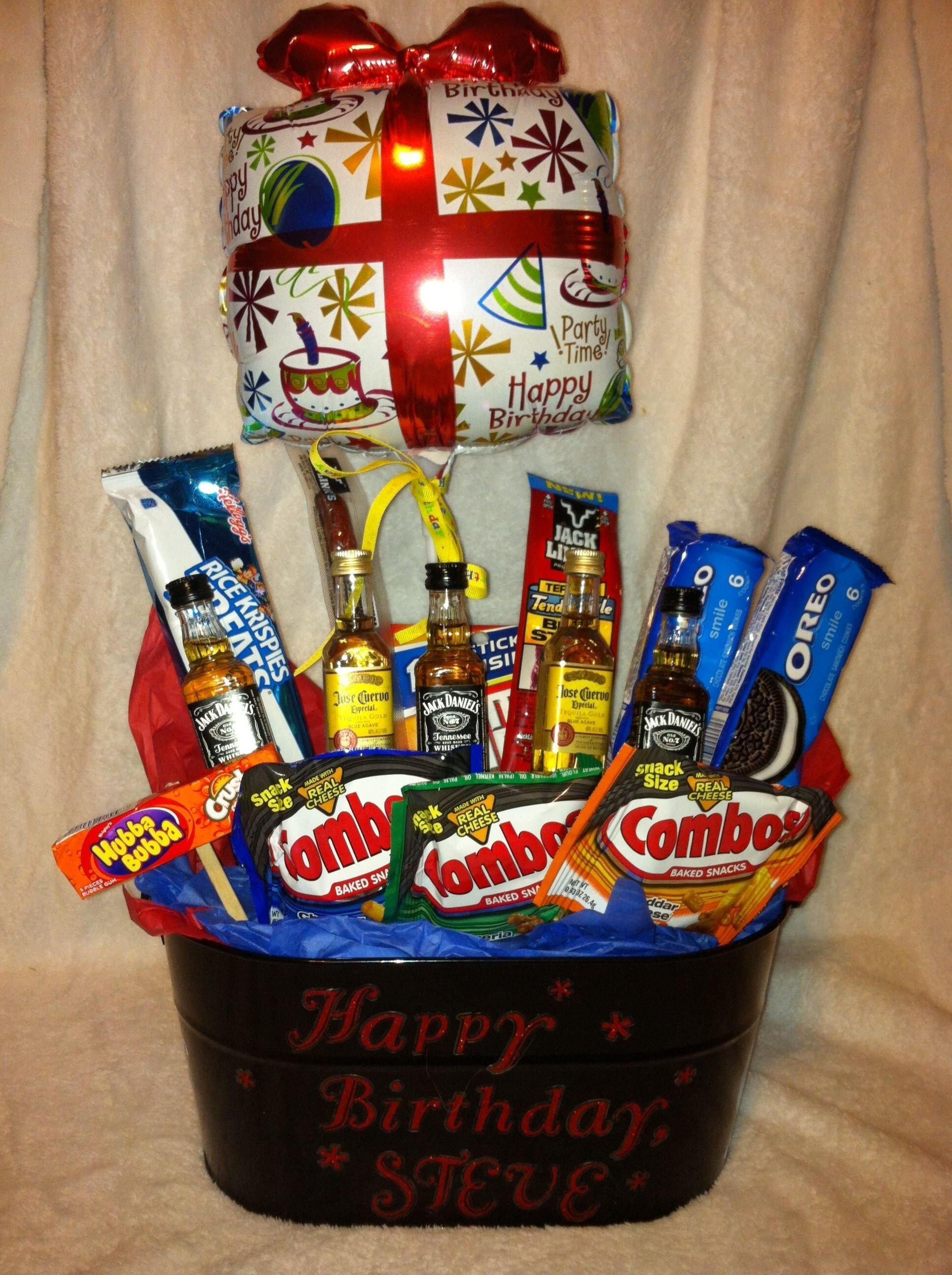 10 Fantastic Special Birthday Ideas For Him birthday gift basket for him gift stuff pinterest birthday 1 2021